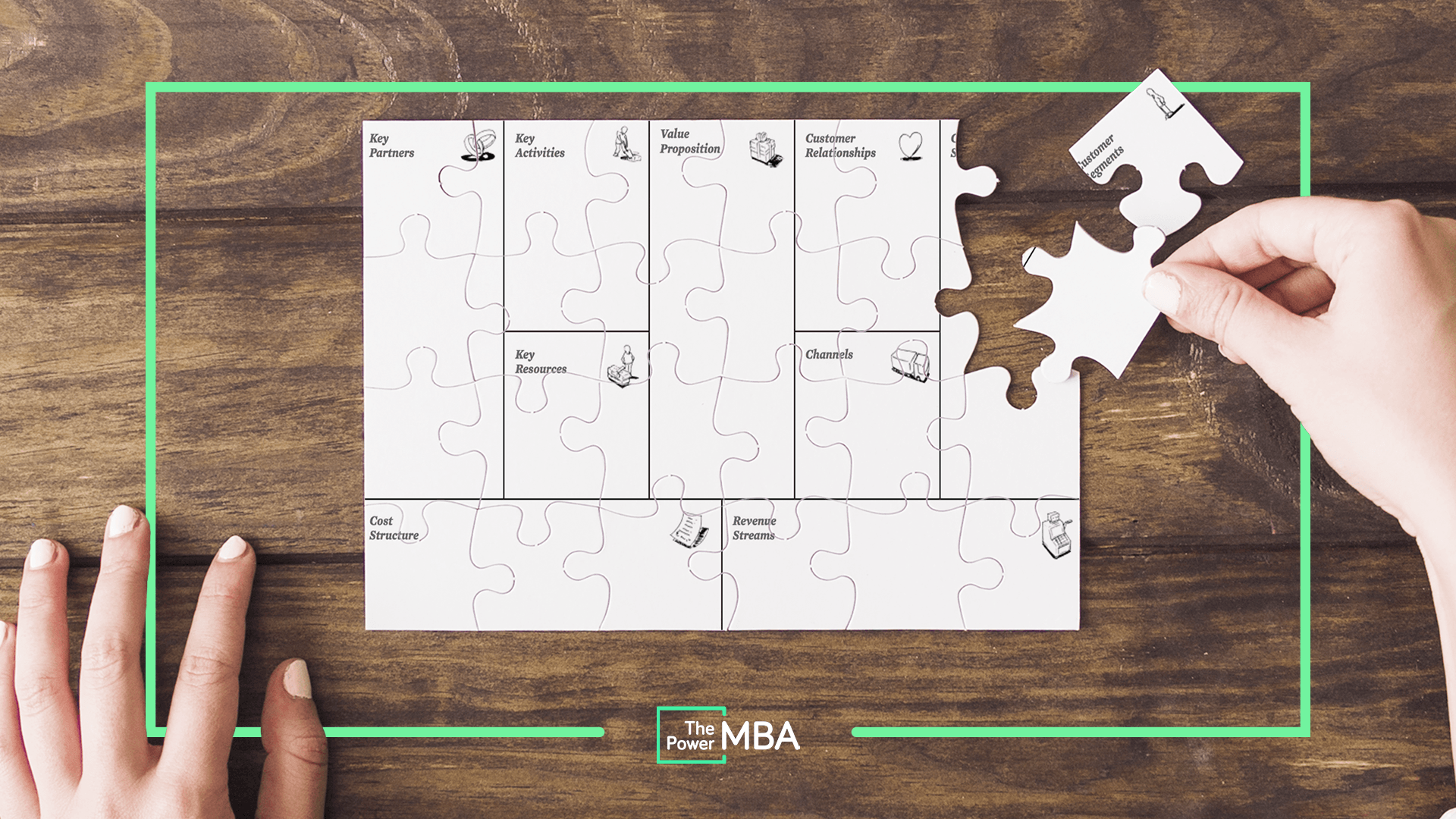 Canvas: 9 piezas de puzzle para construir modelos de negocio