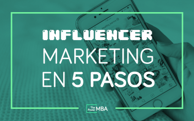 INFLUENCER MARKETING EN 5 PASOS