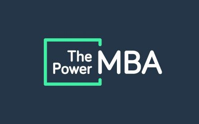 logo master the power mba escuela de negocios