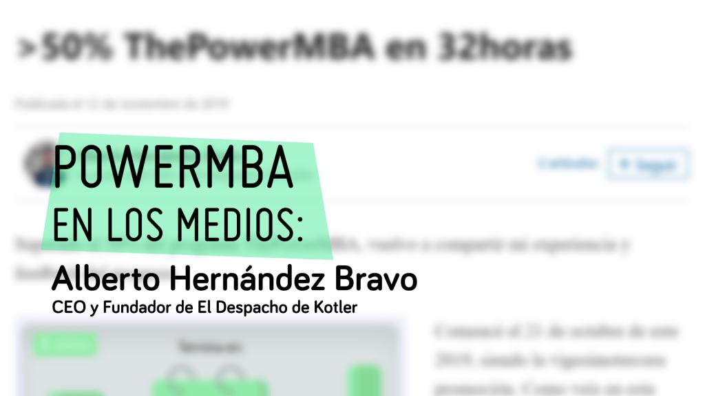 HABLA SOBRE NOSOTROS: Alberto Hernández Bravo