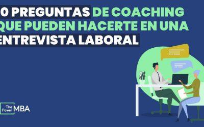 preguntas coaching entrevista laboral