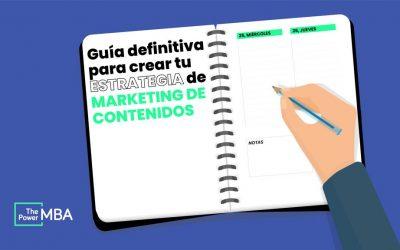 guía estrategia marketing de contenidos