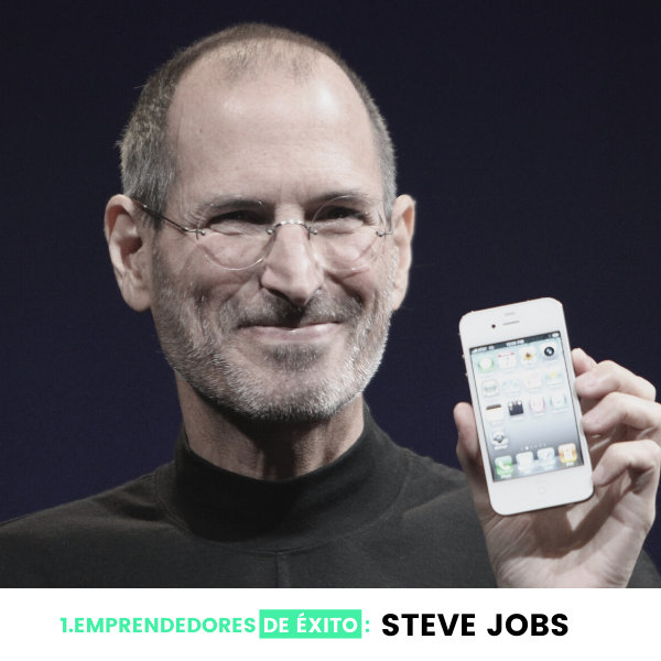 steve jobs emprendedores
