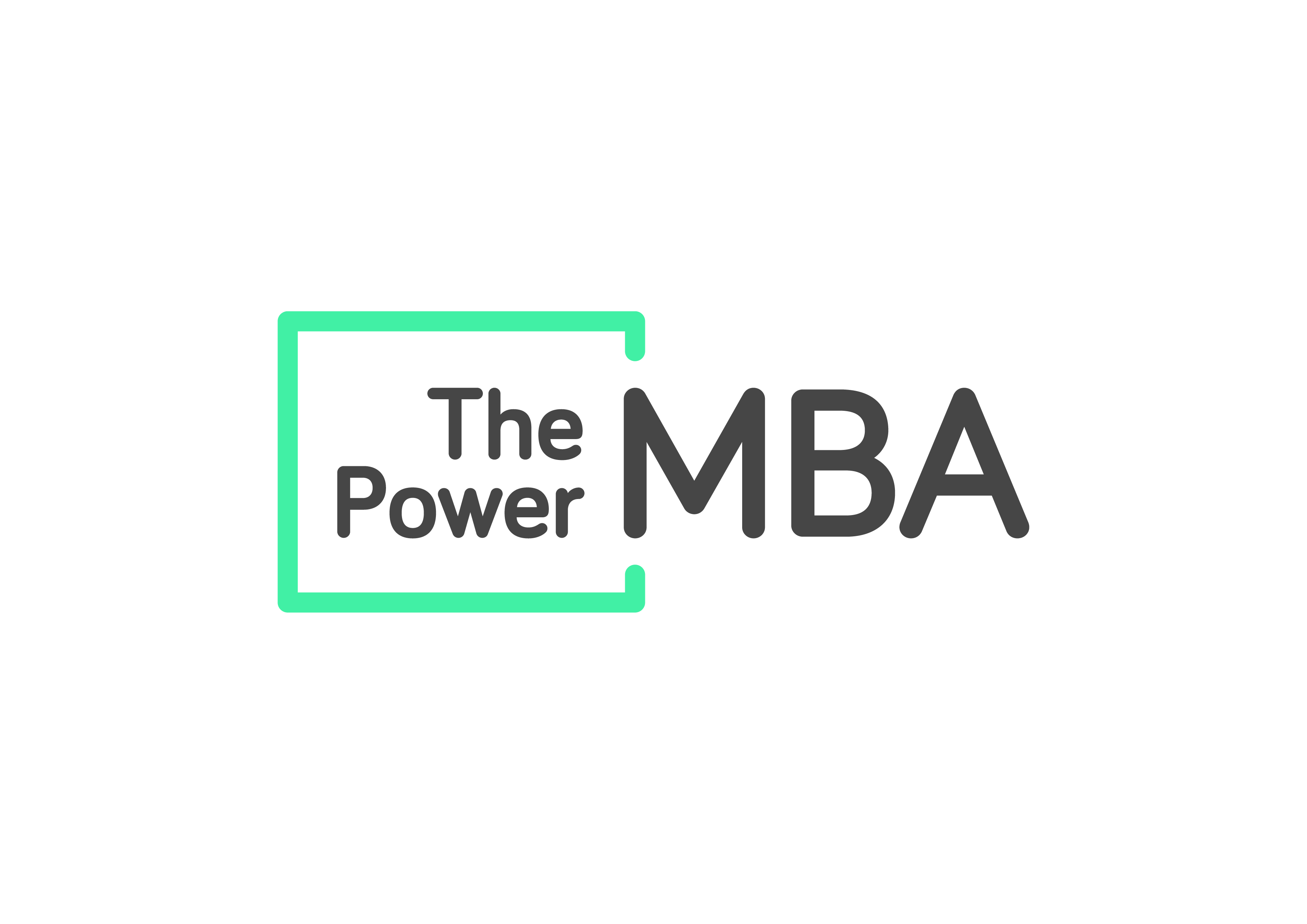 logo the power mba