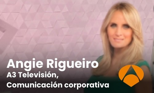 Angie Rigueiro A3 Televisión